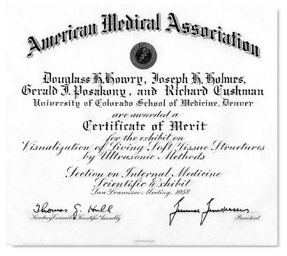 Certificate Of Merit, Ama 1958