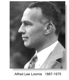 Alfred Lee Loomis, the legend, ultrasonics and the radar
